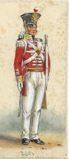 Soldier of the 28th regiment