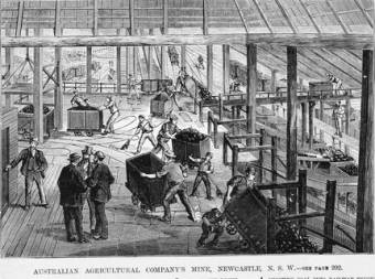 A.A. Company Coal Mines, Newcastle