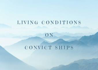 Conditions on Convict Ships