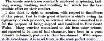 Cork Convict Depot - The Third Report of the Committee of the Society For the Improvement of Prison Discipline 1821