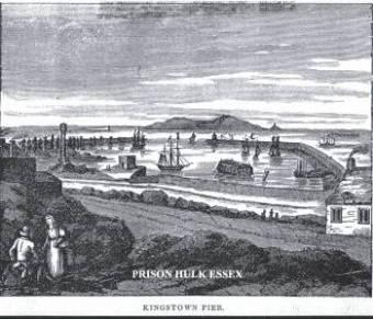 Convict Ship Dunvegan Castle 1832