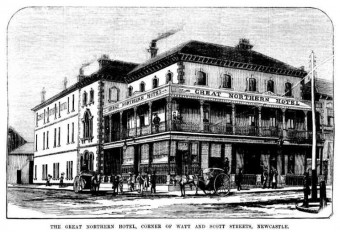 Great Northern Hotel, Watt Street Newcastle. Australian Town and Country Journal (Sydney, NSW : 1870 - 1907) Sat 4 Oct 1879