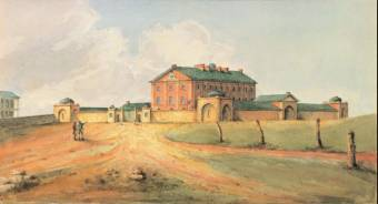 Hyde Park Barracks c.1820