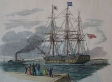 Immigrant Ship 1844