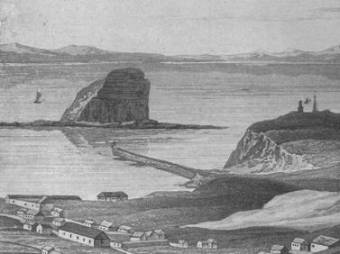 Image showing Macquarie Pier from Dangar's Guide to Settlers c. 1828