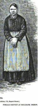 Female Prisoner at Millbank