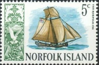 Image of the Norfolk built at Norfolk Island in 1798
