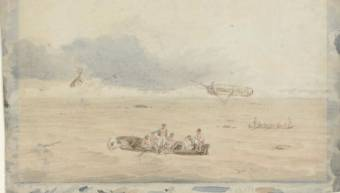 Creator Westall, William, 1781-1850 Title Wreck of the Porpoise, Flinders Expedition [picture] / by W. Westall Call Number PIC Solander box B30 #R7062