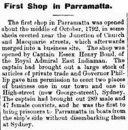 Prisoners of the Royal Admiral taken directly from the ship to Parramatta without being disembarked at Sydney beforehand - Cumberland Argus 25 October 1899