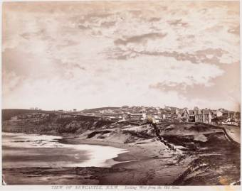 View of Newcastle looking West from the Old Gaol - UON