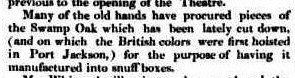 Swamp Oak Tree Sydney Gazette 28 May 1832