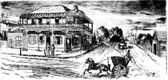 High Street West Maitland - Illustrated Sydney News 8 August 1889