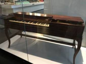 George Bouchier Worgan's piano